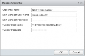 nsx-vrops-credential