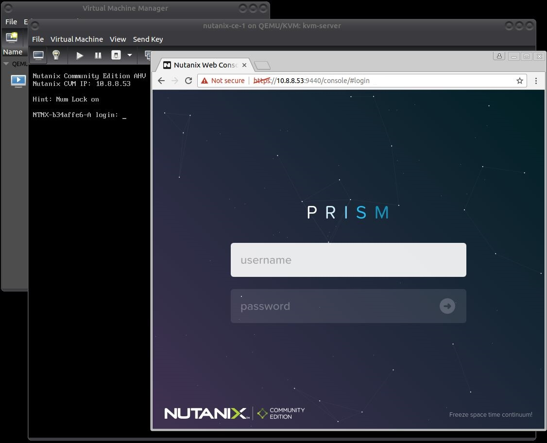 Install Nutanix Community Edition Nested in KVM – ThepHuck