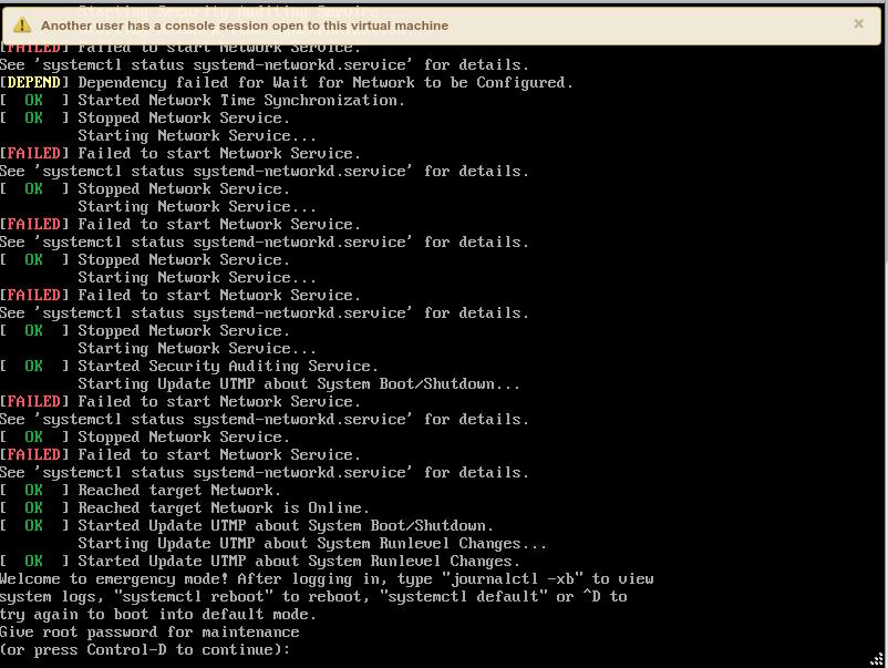 vCenter Server Appliance fails with EXT4-fs journal errors – ThepHuck